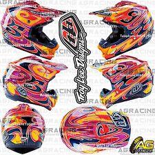 Troy Lee Designs 2016 SE3 Medium MED M Helmet Reflection Red Motocross Enduro