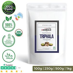 Organic TRIPHALA Powder 100% Natural Premium Quality Organic