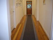 Hallway Runner Hall Runner Rug 6 Metres Long  Modern Grey Black FREE DELIVERY