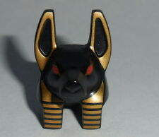 HEAD M Lego Anubis Guard Black & Gold Head w/ Red Eyes NEW 7327  Pharaoh's Quest