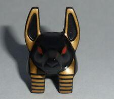HEAD M Lego Anubis Guard Black & Gold Head w/ Red Eyes NEW 7327  Pharaoh's Quest