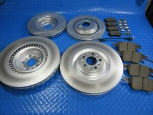 Bentley Gt GTc Flying Spur front rear brake pads rotors BEST QUALITY #5812