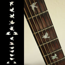 Fret Markers Inlay Sticker Decal For Guitar & Bass - Dove Birds WP