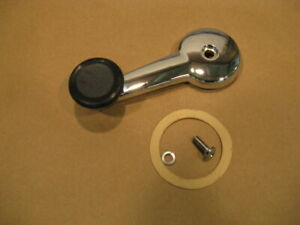 MG new Chrome Window Crank Handle + Screws for MGB MG Midget