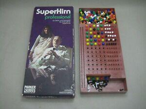 Parker # Superhirn professional # Mastermind # Denkspiel Taktikspiel # 1976 70er