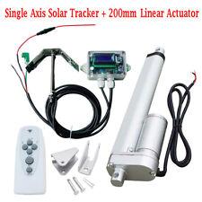 12V/24V Solar Tracker Controller + Linear Actuator 200mm 1500N Solar Panel AU