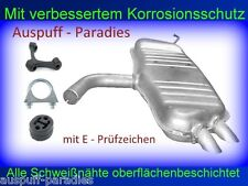 Endschalldämpfer Auspuff Endtopf VW Touran I 1.9 TDi  (TYP 1T1, 1T2) + Anbaukit