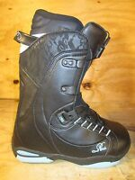 Ride Muse Ladies Snowboard Boots Black Lace Size 6 NEW Womens