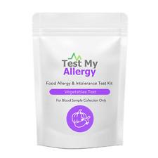 Test My Allergy - Vegetali Cibo Intolleranza Test Kit