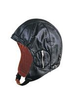 Unik WWII Motorcycle Leather Vintage Aviator Hat