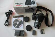 Canon EOS 400D 10MP digital-slr FOTOCAMERA + EF-S Lens +1 GB FC-Boxed