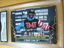 FLOYD MAYWEATHER 2017 TOPPS NOW ROAD TO AUG. 26 # 3 GRADED 10  L@@@K