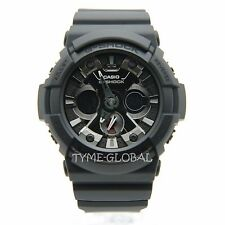 Casio G-Shock GA-201-1A Black Resin Magnetic Resistant 200M Analog Digital Watch