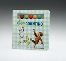 Curious Baby Counting Curious George Board Book with Beads Curious Baby Curio