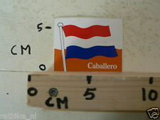 STICKER,DECAL CABALLERO DUTCH FLAG