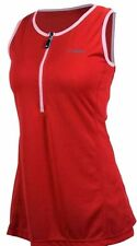 Womens Netti Diva Tempo Jersey Short Sleeve Cycling Jersey Red Size 10