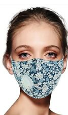 Adults Floral Reusable face mask with pm 2.5 pocket and breathing valve