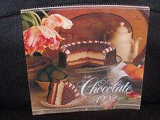 "1992 Hallmark Rare! ""Chocolate"" Wall Calendar"