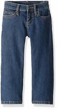 Wrangler Girls' Western Boot Cut Jean, Medium Blue, 6X Slim