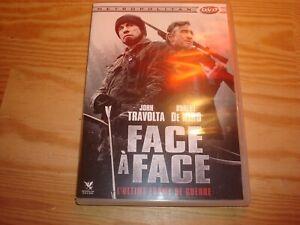 DVD :  FACE A FACE la chasse à l'homme va commencer (John TRAVOLTA .R. DE NIRO