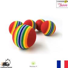 Lot de 5 Balles pour chats Multicolore Jouet pour Chat  Petit Chien Neuf FR