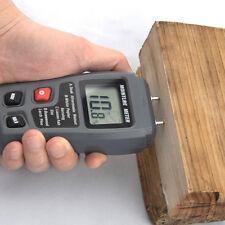 Digital LCD Moisture Temperature Meter Humidity Timber Wood Damp Tester Detector