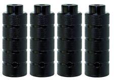 BMX Pegs 4 Stück schwarz 38 x 110 mm für 10mm Achsen Neu