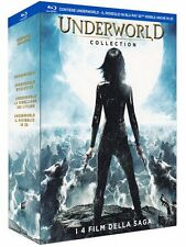 Underworld Collection (3 Blu-Ray+1 Blu Ray 3D) Cofanetto Nuovo