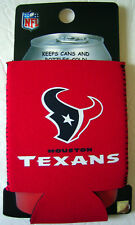 HOUSTON TEXANS Can Bottle Koozie/Coozie Drink Holder Authentic NFL Football Gear