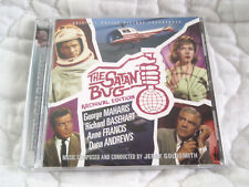 THE SATAN BUG ORIGINAL MOTION PICTURE SOUNDTRACK CD JERRY GOLDSMITH 1965 MOVIE