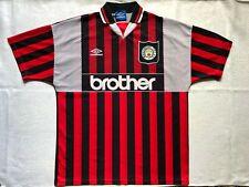 MANCHESTER CITY 1994 1995 1996 AWAY FOOTBALL SOCCER SHIRT JERSEY UMBRO