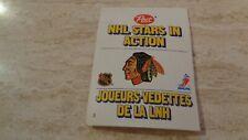 1981-82 Post NHL Stars In Action Pop-Ups - #3 Chicago Black Hawks - Denis Savard