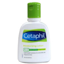 Cetaphil Moisturizing Body & Face Lightweight Fragrance Free Lotions 4 FL oz.