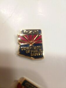 NEW! EP INDUSTRIES ARIZONA DPS DEPARTMENT OF PUBLIC SAFETY LAPEL PIN TIE TACK