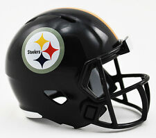 ***NEW*** PITTSBURGH STEELERS NFL Riddell SPEED POCKET PRO Mini Football Helmet