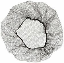 "100 Pcs Shield Safety Disposable 18"" Hairnet, Brown, Nylon Hair Net Cap"