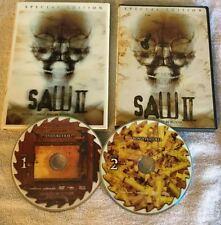 Saw II + 3D Slip Cover! Lenticular  (DVD, 2006, 2-Disc Set, Uncut Edition)