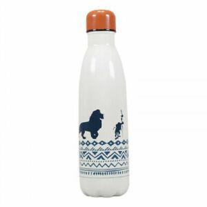 Disney The Lion King Water Bottle Vacuum Lid Metal 450ml Stainless Steel BNWT