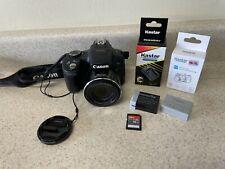 Canon PowerShot SX50 HS Digital Camera - Black   3 Batteries & Charger