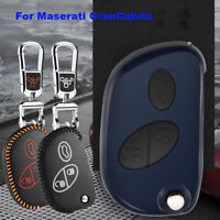 For Maserati GranCabrio Smart Key Keyless Remote Entry Fob Case Cover Key Chain