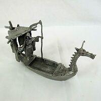 Partha Pewter Charon Dragon Boat Grim Reaper Bob Olley PP 560 Vintage 1995