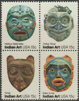 Scott #1834-37 American Folk Art Block of 4 MNH