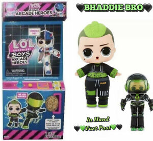 LOL Surprise BHADDIE Bro Chaos Boy Doll BOYS ARCADE HEROES Series NEW Brother