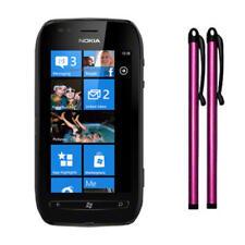 Punteros de plástico de color principal rosa para teléfonos móviles y PDAs Nokia