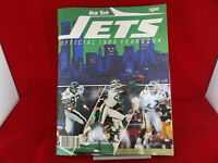 Vintage New York Jets NFL Football Official 1989 Yearbook