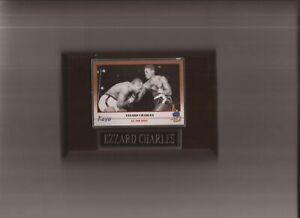EZZARD CHARLES PLAQUE BOXING CHAMPION   C
