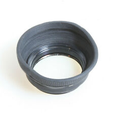 52MM RUBBER LENS HOOD WITH UV-HAZE FILTER