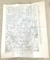 1915 Antique Map of Minneapolis Centerville White Bear United States Topography