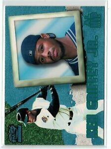 1998 Pacific Invincible Platinum Blue #149 Ken Griffey Jr. MVP Mariners!