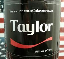 Share A Coke Zero With Taylor Coca Cola Bottle 2017
